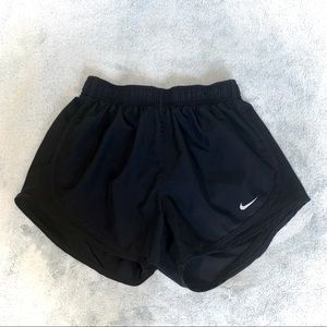 All-Black Nike Dri-Fit Shorts
